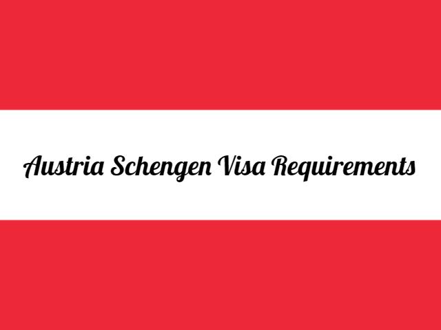 Austria-schengen-visa-requirements