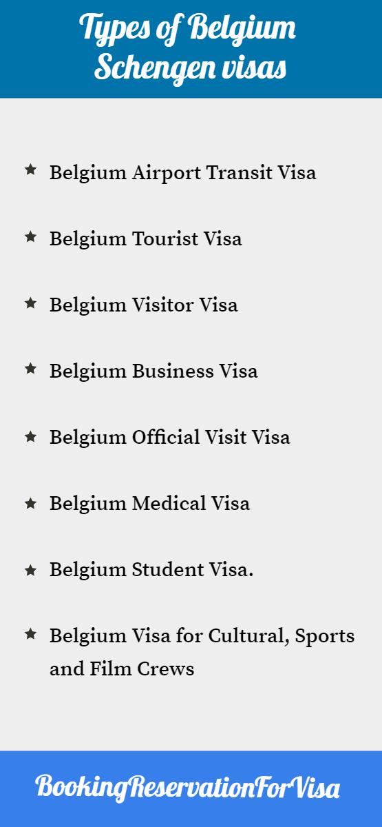 types-of-Belgium-Schengen-visa