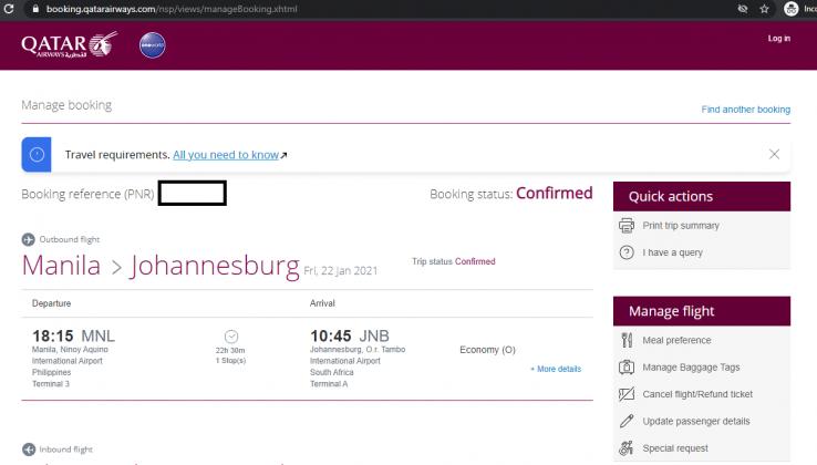 flight-itinerary-verify-status-online
