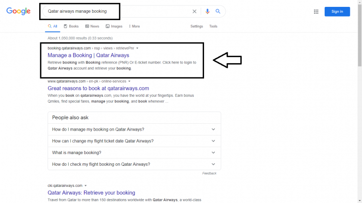 google-booking-manage-search