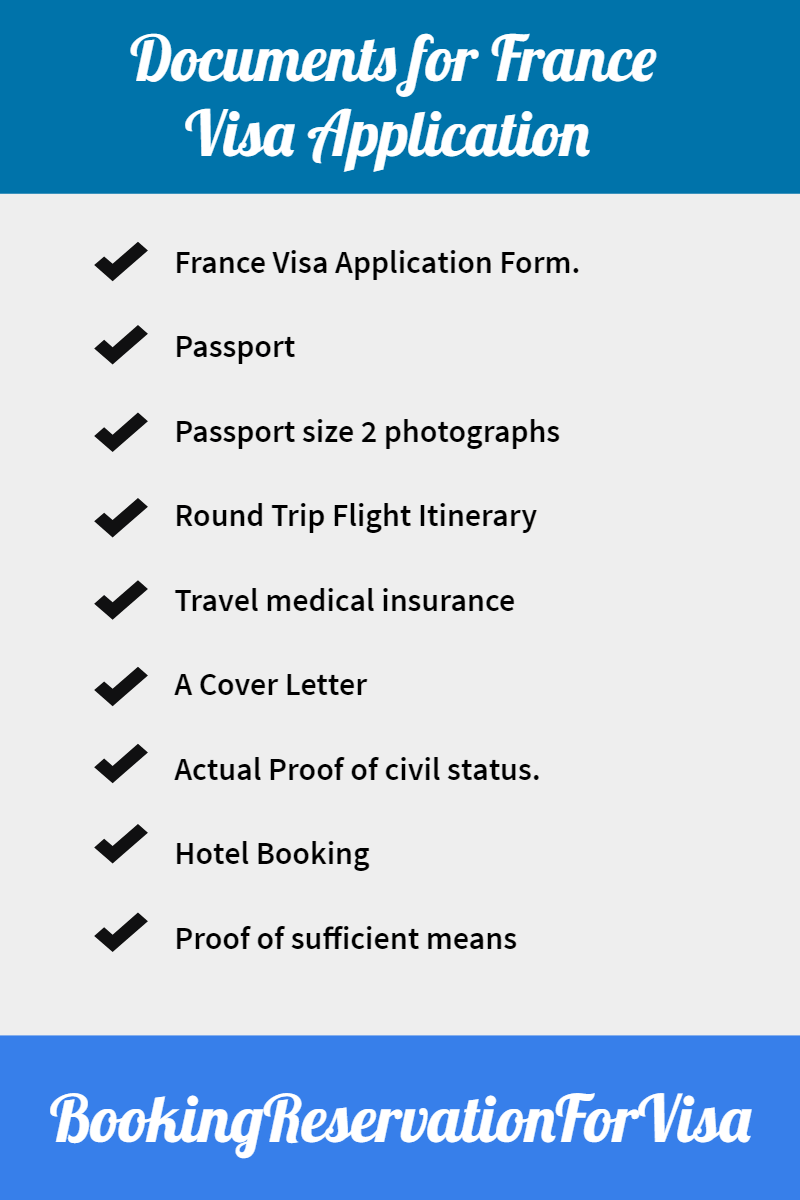 required-documents-for-france-visa-application
