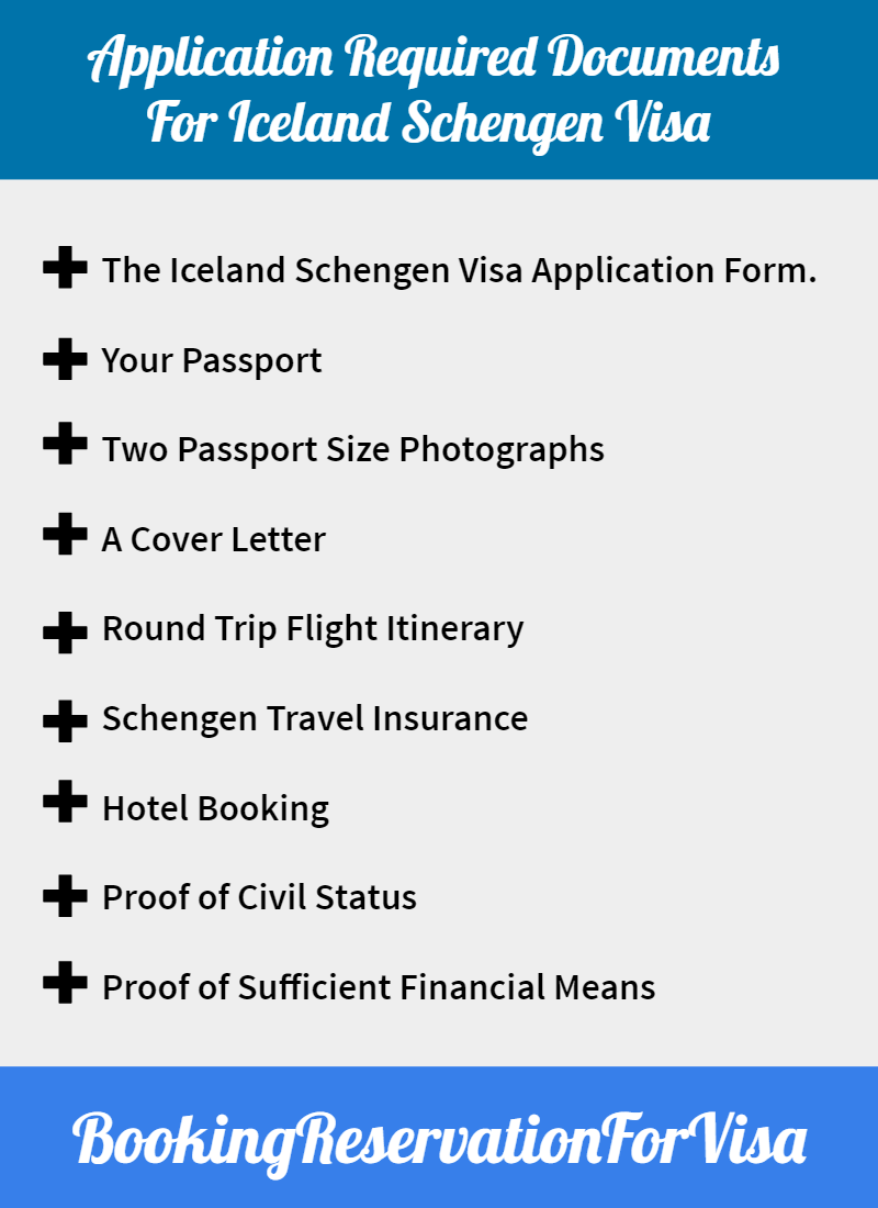 Iceland-visa-required-application-documents