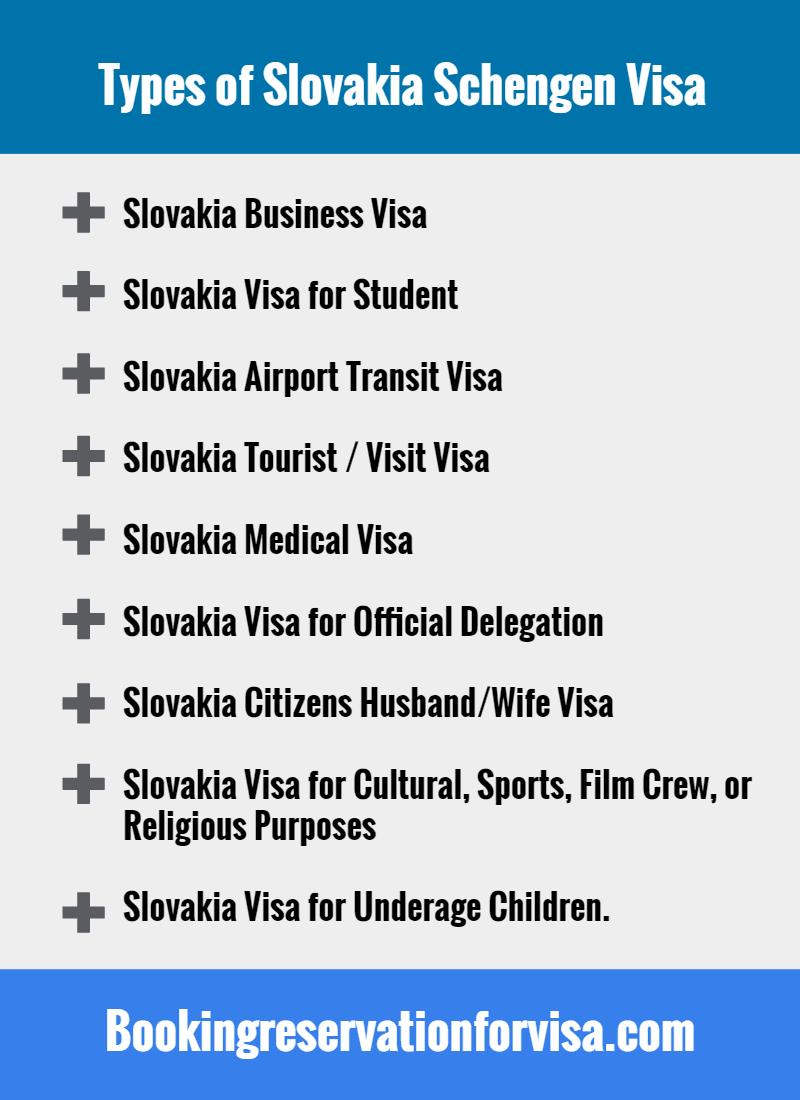 Slovakia-schengen-visa-types