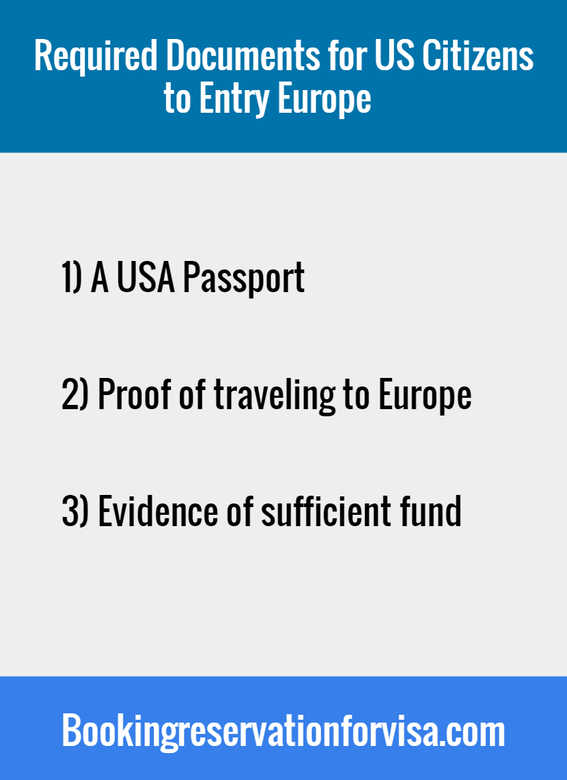required-documents-for-US-citizens-europe-entry