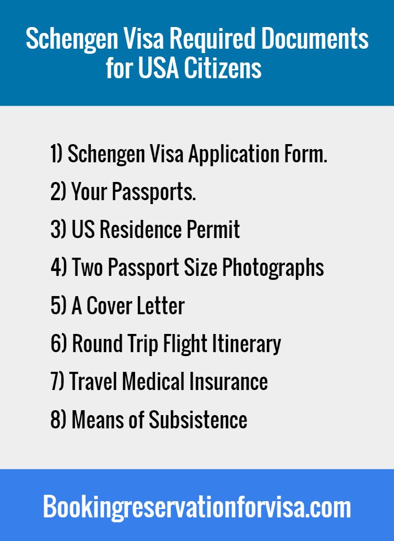 schengen-visa-required-documents-for-US-citizens