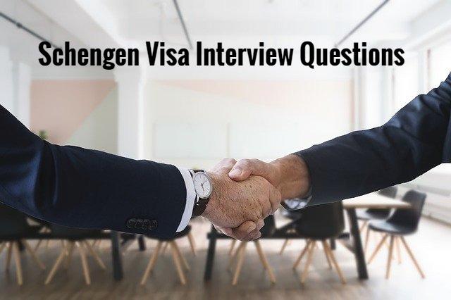schengen-visa-interview-questions