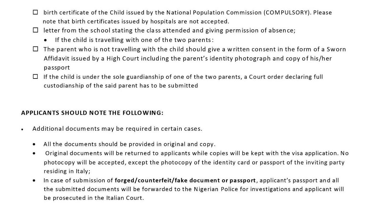 Consulate-general-of-italy-requisite-documents-for-Schengen-visa-3